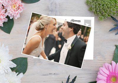 El juego de 52 postales de boda